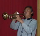 Chinese Trumpet Player - Beijing 2006